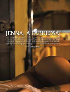 Дженна Джеймсон разделась догола  в журнале Playboy фото #1