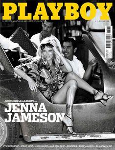 Дженна Джеймсон позирует голой  в журнале Playboy фото #1