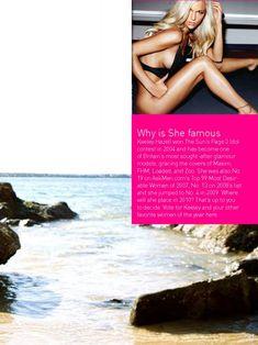 Сексуальная Кили Хэзелл в бикини для журнала Pick Up фото #3