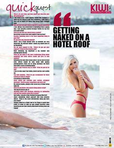 Красотка Лорен Эшли Картер в сексуальном бикини в журнале Modelz View фото #5