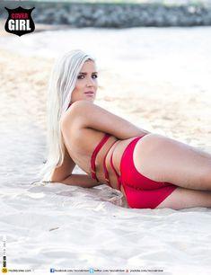 Красотка Лорен Эшли Картер в сексуальном бикини в журнале Modelz View фото #6