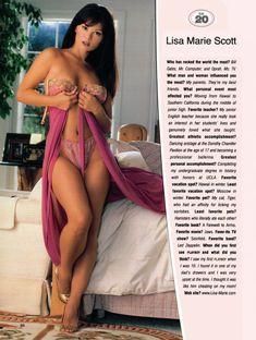 Красотка Лиза Мари Скотт разделась в журнале Playboy's Lingerie фото #1