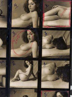Молодая голая Мадонна  в журнале Playboy фото #2