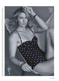 Секси Мария Шарапова  в журнале Esquire фото #4