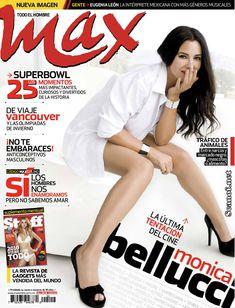 Сексапильная Моника Беллуччи  в журнале Max фото #1