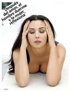 Сексапильная Моника Беллуччи  в журнале Max фото #9