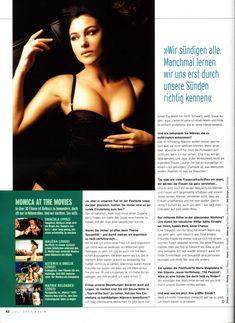 Аппетитная Моника Беллуччи  в журнале Maxim фото #6