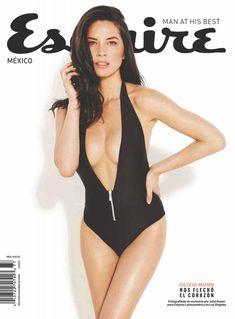 Соблазнительная Оливия Манн  в журнале Esquire фото #1