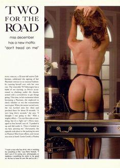 Совершенно голая Петра Веркаик снялась в журнале Playboy фото #2
