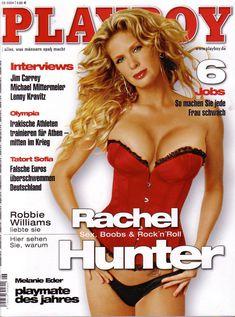 Красивая Рэйчел Хантер снялась голой в журнале Playboy фото #1