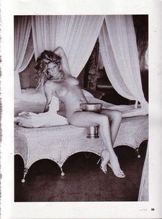 Красивая Рэйчел Хантер снялась голой в журнале Playboy фото #9