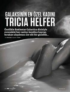 Горячая Триша Хелфер  в журнале FHM фото #1