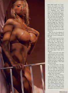 Анна Николь Смит в голом виде для Плейбоя фото #4