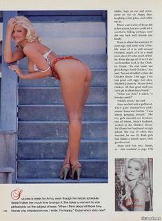 Анна Николь Смит в голом виде для Плейбоя фото #7