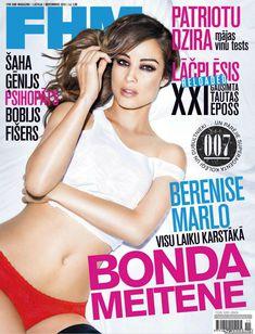 Эротичная Беренис Марло  в журнале FHM фото #1