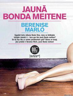 Эротичная Беренис Марло  в журнале FHM фото #2