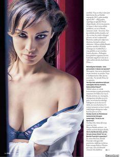 Эротичная Беренис Марло  в журнале FHM фото #6