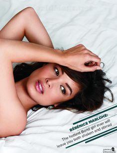 Секси Беренис Марло  в журнале Maxim фото #3