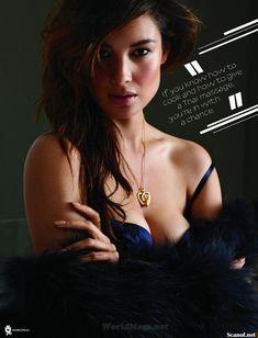 Секси Беренис Марло  в журнале Maxim фото #6