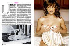 Карла Гуджино без лифчика в журнале Esquire фото #2