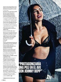 Сексуальная Кристина Брондо на фото в журнале FHM фото #3