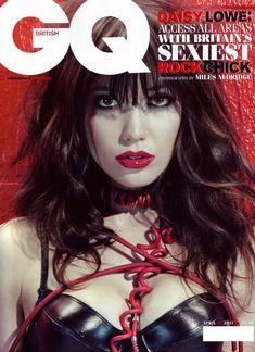 Дэйзи Лоу обнажилась в журнале GQ фото #1
