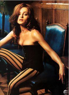 Эротичная Хелена Бонем Картер  в журнале Maxim фото #1