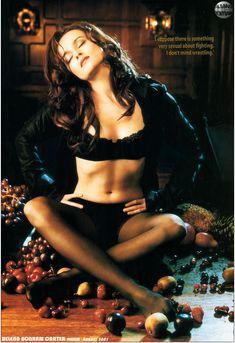 Эротичная Хелена Бонем Картер  в журнале Maxim фото #3
