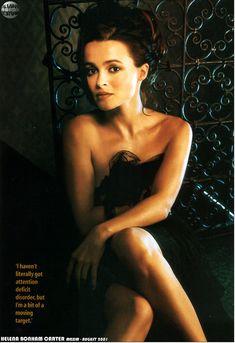 Эротичная Хелена Бонем Картер  в журнале Maxim фото #4