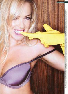 Горячая Имоджен Бэйли в сексуальном белье для журнала Maxim фото #7