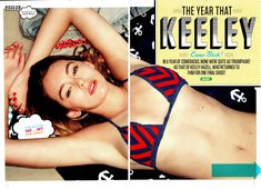 Эротичная Кили Хэзелл в бикини снялась в журнале FHM фото #6