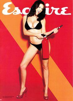 Келли Брук в эротической фотосессии для Esquire June 2011 (6-2011) UK фото #1