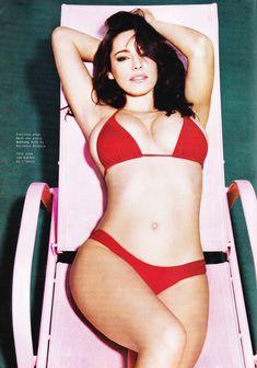 Келли Брук в эротической фотосессии для Esquire June 2011 (6-2011) UK фото #3
