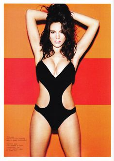 Келли Брук в эротической фотосессии для Esquire June 2011 (6-2011) UK фото #4