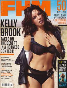 Келли Брук в эротичном белье для журнала FHM фото #1