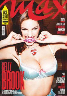 Келли Брук снялась обнаженной в журнале Max фото #1
