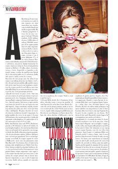 Келли Брук снялась обнаженной в журнале Max фото #8