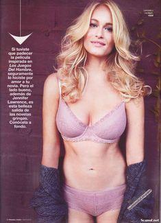 Сексуальная Ливэн Рамбин снялась в белье в журнале Maxim фото #3