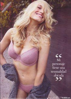 Сексуальная Ливэн Рамбин снялась в белье в журнале Maxim фото #4