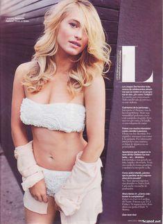 Сексуальная Ливэн Рамбин снялась в белье в журнале Maxim фото #6