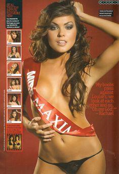 Голая грудь Луиз Клайфф и Ракл Кордингли в журнале Maxim фото #5