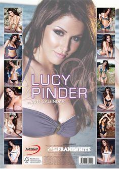 Прелестная Люси Пиндер  в журнале Global Calendars фото #5