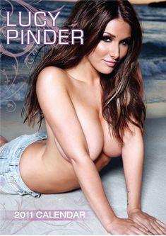 Прелестная Люси Пиндер  в журнале Global Calendars фото #6