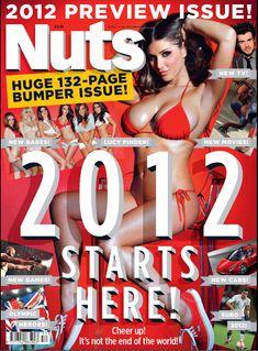 Шикарная грудь Люси Пиндер  в журнале Nuts фото #1