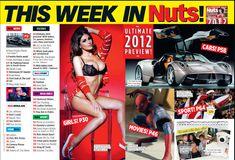 Шикарная грудь Люси Пиндер  в журнале Nuts фото #2