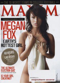 Эротичная Меган Фокс  в журнале Maxim фото #1