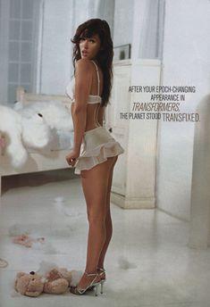 Эротичная Меган Фокс  в журнале Maxim фото #5