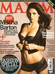 Эротичная Миша Бартон  в журнале Maxim фото #1