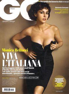 Эротичная Моника Беллуччи  в журнале GQ фото #1