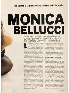 Моника Беллуччи позирует для журнала Playboy фото #2